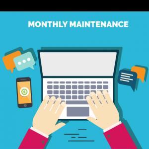 monthly maintenance website plans