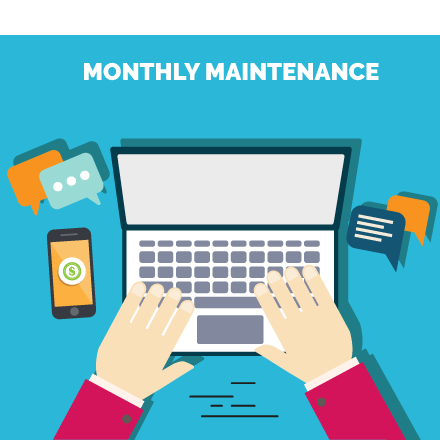 monthly maintenance website plans